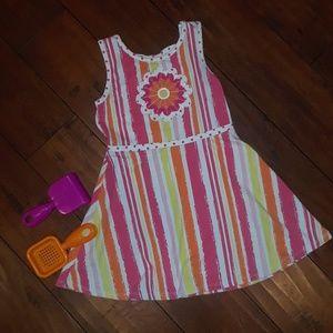 Flapdoodles boutique Sundress Summer Dress sz 6X